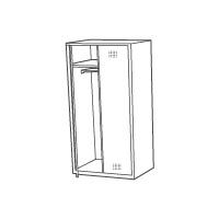 Гардеробные шкафы (для одежды)